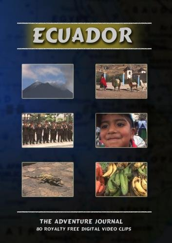 Ecuador Royalty Free Stock Footage