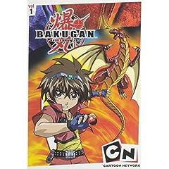 Bakugan Volume 1-5