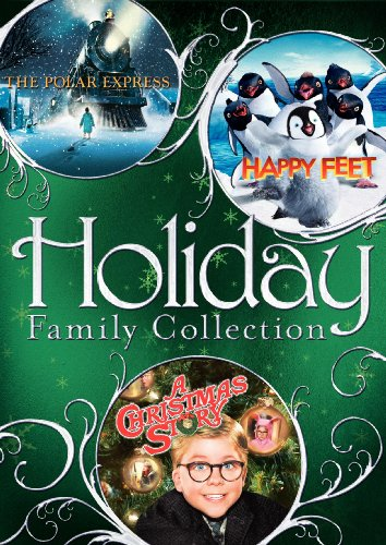 Holiday Family Collection: The Polar Express/Happy Feet/A Christmas Story