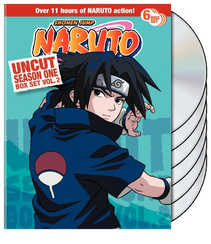 Naruto Uncut Box Set: Season One, Vol. 2
