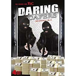 Daring Capers - Seasons 1 & 2 - 20 Episodes! AS SEEN ON THE LEARNING CHANNEL!