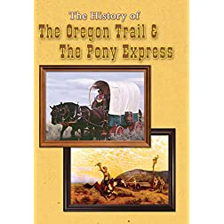 The History of the Oregon Trail and The Pony Express DVD - 2 Programs on 1 DVD