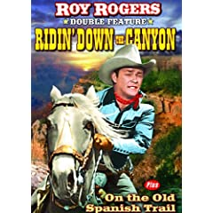 Roy Rogers Double Feature: Ridin' Down the Canyon (1942) / On the Old Spanish Trail (1939)