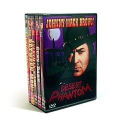 Johnny Mack Brown Western Classics (Desert Phantom  (1936) / Guns In The Dark (1937) / Everyman's Law (1936) /  Between Men  (1935) / Under Cover Man  (1936) (5-DVD)