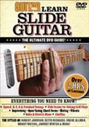 Guitar World -- Learn Slide Guitar: The Ultimate DVD Guide (DVD)