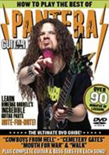 Guitar World -- How to Play the Best of Pantera: The Ultimate DVD Guide (DVD)