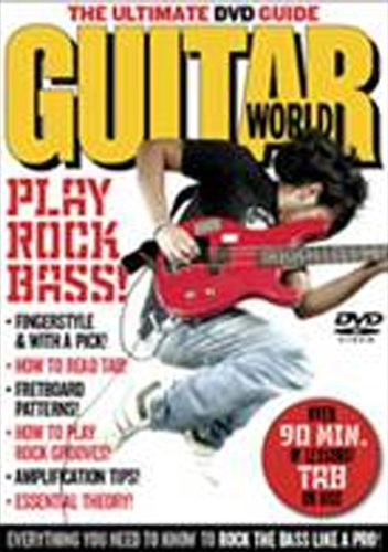 Guitar World -- Play Rock Bass!: The Ultimate DVD Guide (DVD)