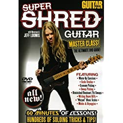 Guitar World -- Super Shred Guitar Masterclass!: The Ultimate DVD Guide (DVD)