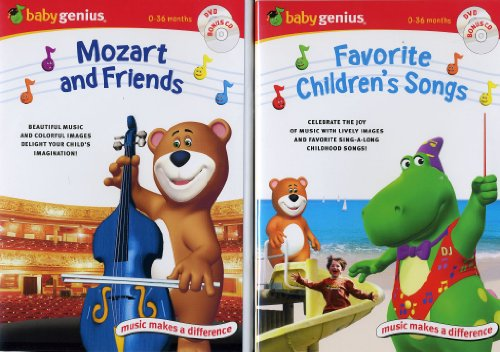 Baby Genius DVD 2 pack