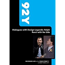 92Y - Dialogues with Design Legends: Ralph Rucci with Ike Ude (September 18, 2008)