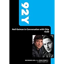 92Y - Neil Gaiman in Conversation with Chip Kidd (November 9, 2008)