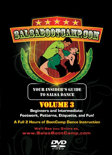 SalsaBootCamp: Beginning & Intermediate Salsa Dance, Volume 3!