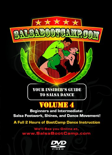 SalsaBootCamp: Beginning & Intermediate Salsa Dance, Volume 4!