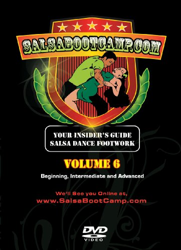 SalsaBootCamp: Beginning & Intermediate Salsa Dance, Volume 6!