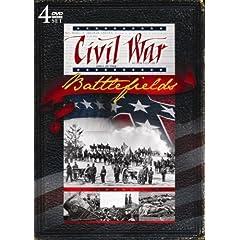 Civil War Battlefields! 4 DVD set!