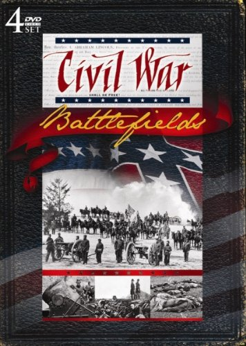 Civil War Battlefields! 4 DVD set!