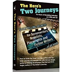 The Hero's Two Journeys DVD Series with Bonus 6 Hours Audio: Storytelling Secrets for Screenwriters, Playwrights, and Fiction Writers. (New Updated Edition)