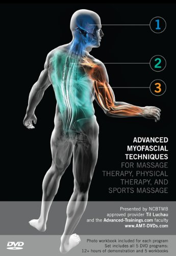 Advanced Myofascial Techniques for Massage Therapy, Physical Therapy and Sports Massage: 5-Program Set