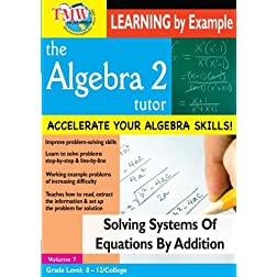 Solving Systems of Equations by Addition