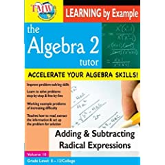 Add/Subtract Radical Expressions