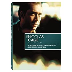The Nicholas Cage Star Collection (Valley Girl / Honeymoon In Vegas / Leaving Las Vegas / Moonstruck)