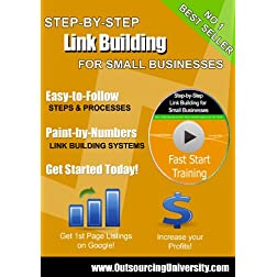 Step-by-Step Link Building for Small Business SEO Video Training DVD