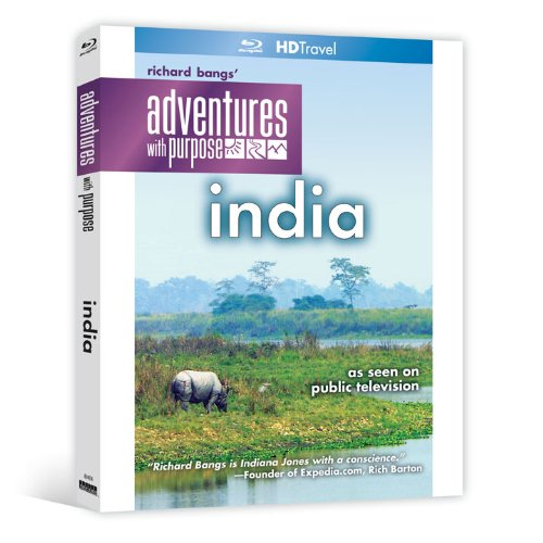 Richard Bangs' Adventures with Purpose: India [Blu-ray]