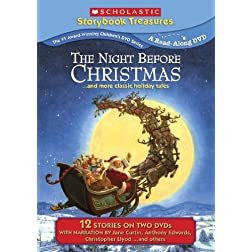The Night Before Christmas... and More Classic Holiday Titles (Scholastic Storybook Treasures) (Special Edition 2-Pack)