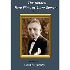 The Actors: Rare Films Of Larry Semon Vol.4