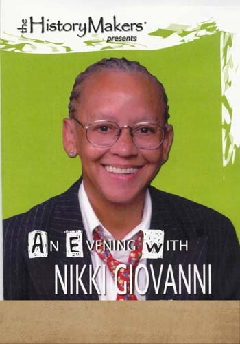 An Evening with Nikki Giovanni DVD