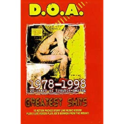 D.O.A. - Greatest Shits 1978-1998