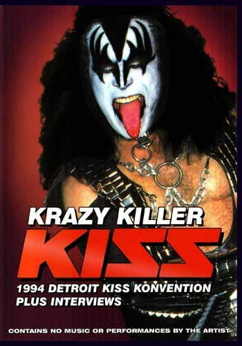 KISS Krazy Killer 1994 Detroit KISS Konvention Plus Interviews
