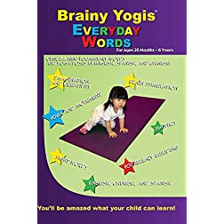 Brainy Yogis: Everyday Words