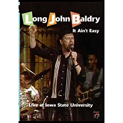 Long John Baldry: It Ain't Easy, Live at Iowa State University