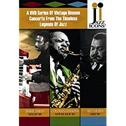 Jazz Icons: Series 4 Box Set (8 DVDs)