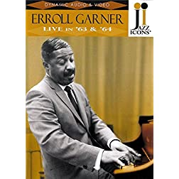 Jazz Icons: Erroll Garner Live in '63 & '64