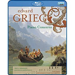 Percy Grainger/Kristiansand Symfoniorkester: Grieg - Piano Concerto [Blu-ray]