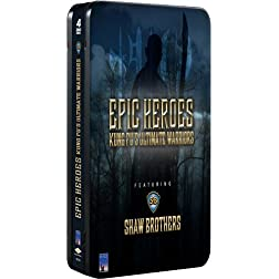 Shaw Brothers Metal Tin: Epic Heroes (4 DVDs and T-Shirt Offer)