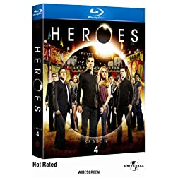 Heroes: Season Four  [Blu-ray]
