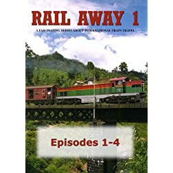 Rail Away 1, Episodes 1-4: United States (Colorado), Portugal, Sri Lanka, Denmark, Sweden
