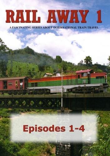 Rail Away 1, Episodes 1-4: United States (Colorado), Portugal, Sri Lanka, Denmark, Sweden