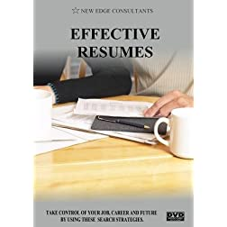 EFFECTIVE RESUMES
