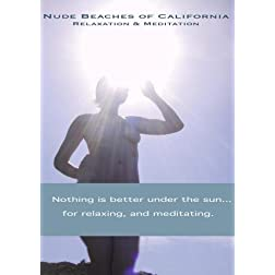 Nude Beaches of California Relaxation DVD