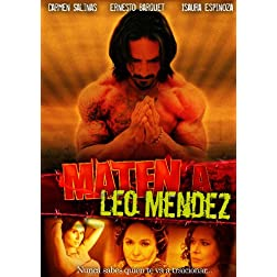 Maten a Leo Mendez