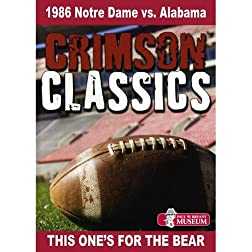 Crimson Classics: 1986 Alabama vs. Notre Dame