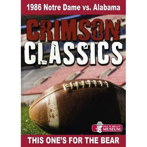 Crimson Classics: 1986 Alabama vs. Notre Dame
