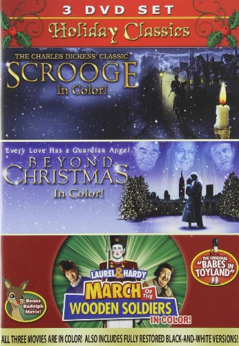 Holiday Classics 3PK: Scrooge, Beyond Christmas, March of the Wooden Soldiers