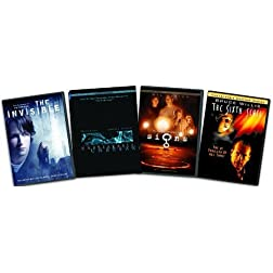 Thriller 4-Pack (The Invisible / The Sixth Sense / Signs / Unbreakable)