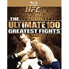 UFC: The Ultimate 100 Greatest Fights [Blu-ray]