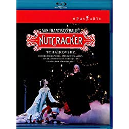 Tchaikovsky:  Nutcracker - featuring the San Francisco Ballet [Blu-ray]
